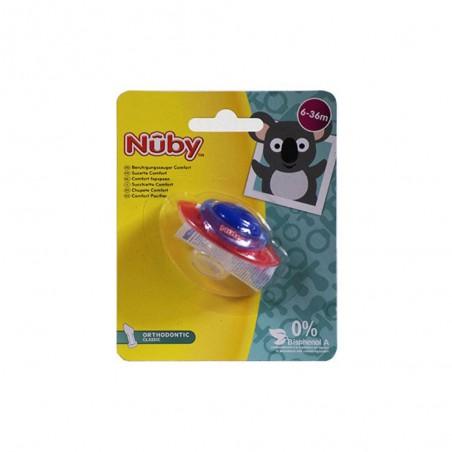 NUBY SUCETTE COMFORT 1P 6M+