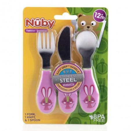 NUBY SET DE TABLE CUILLERE...